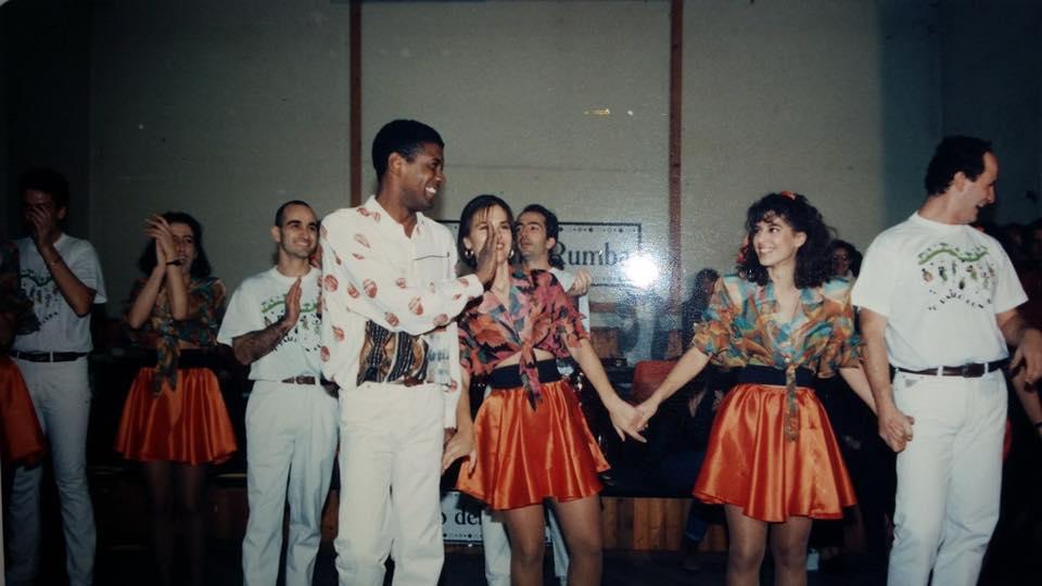 Sabato della Rumba - Roma, 4 Dicembre 1994, organizzato da Tony Castillo